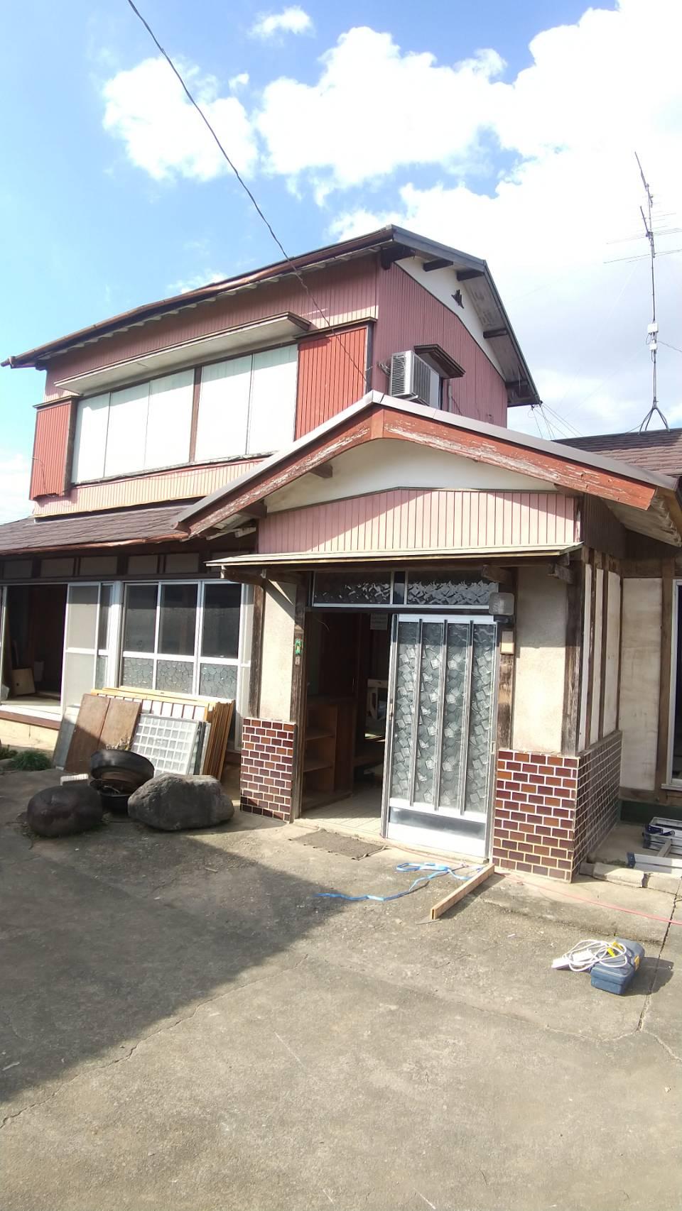川島改修工事
