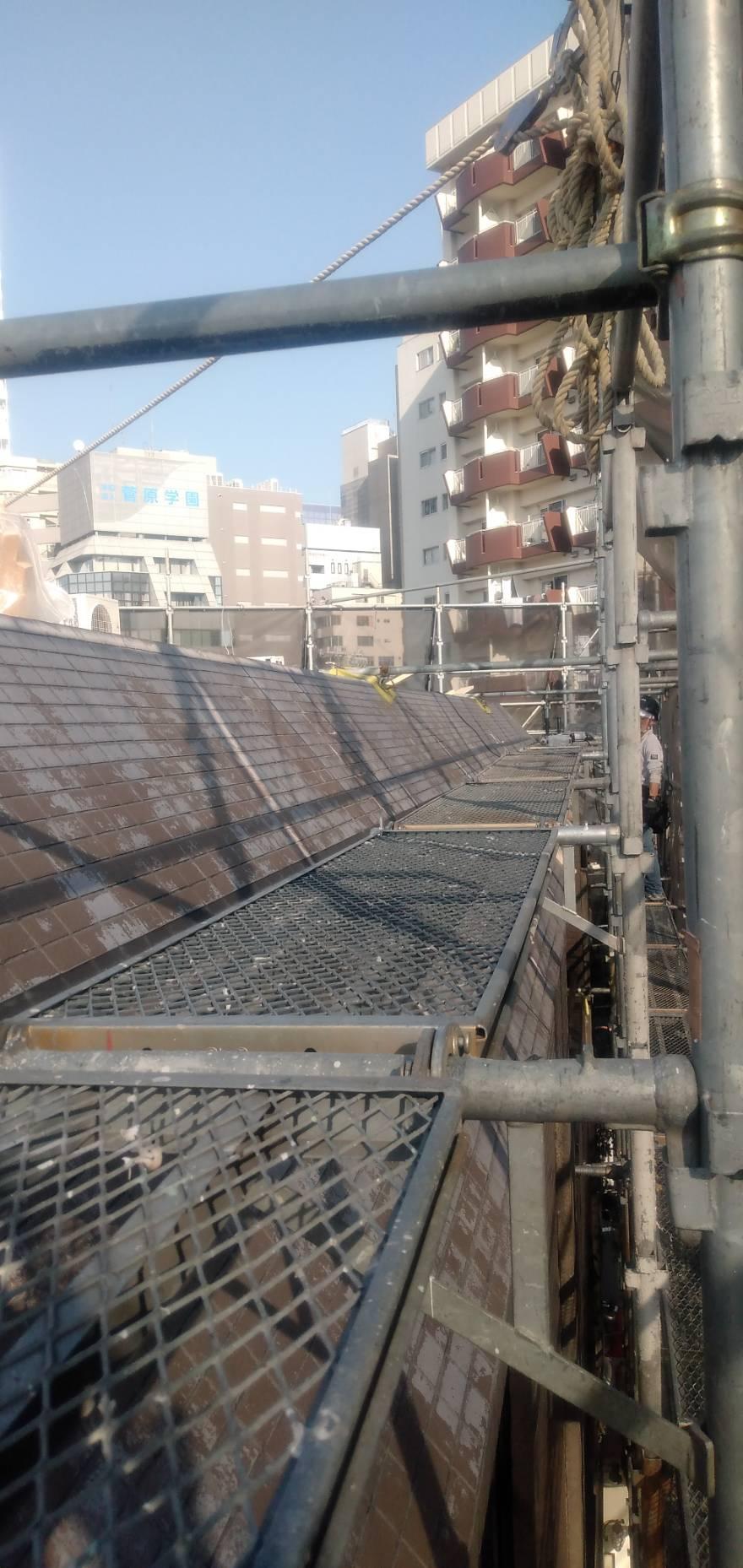 池袋 屋根、防水工事