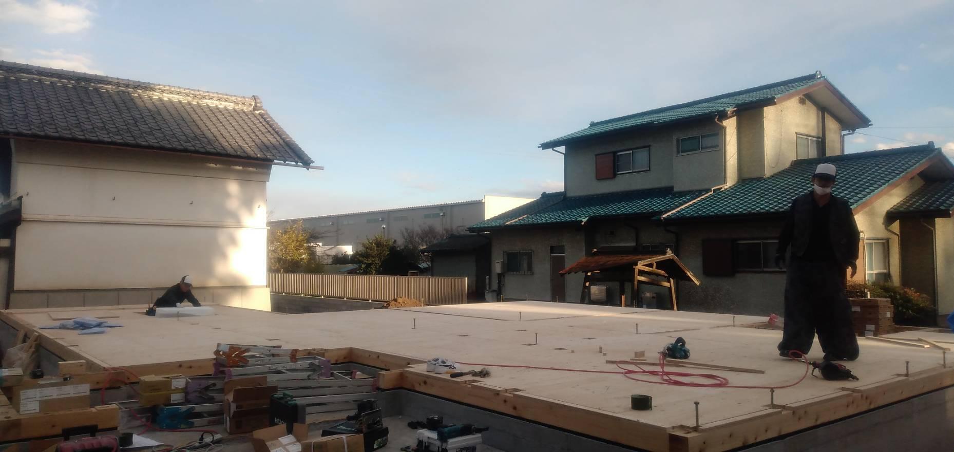 三芳町 新築工事